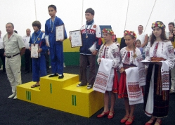 Чемпионат Украины по универсальному бою в Коблево